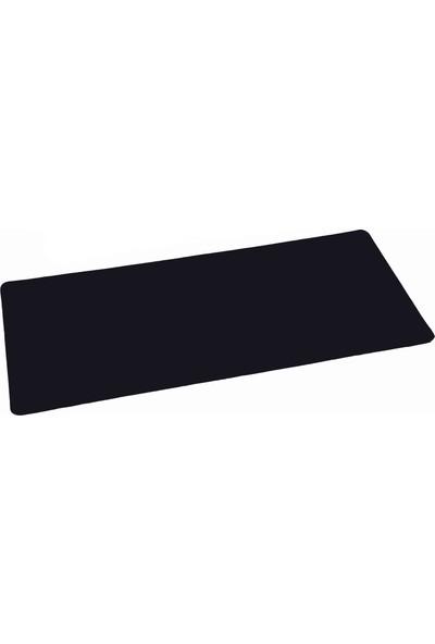 Gaming Oyuncu mousepad 70*30 3mm XL Boy Düz siyah Modeli