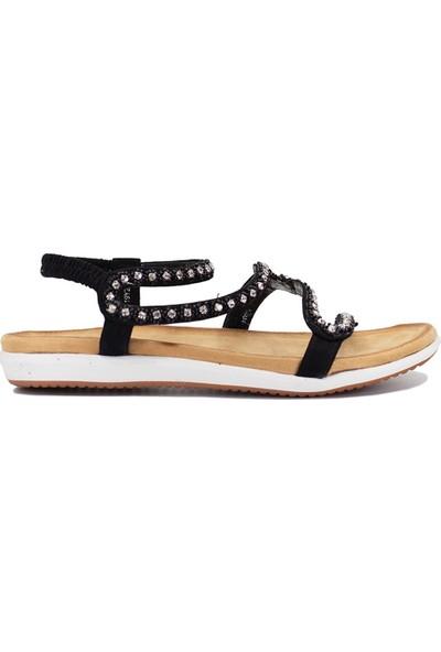 Eşle 9Y-153 Kadın Sandalet Siyah