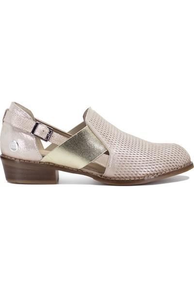 Mammamia D19YA-3670 Kadın Günlük Ayakkabı Altın Dore