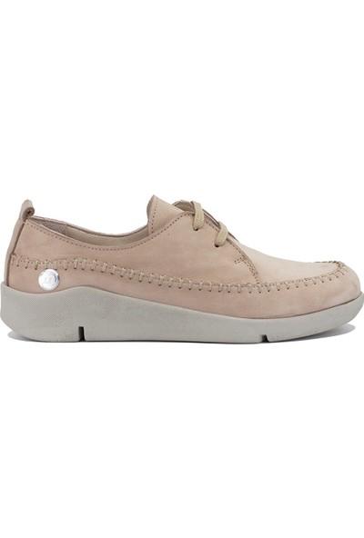 Mammamia D19YA-4565 Kadın Günlük Ayakkabı Vizon