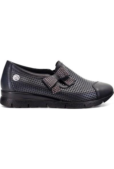 Mammamia D19YA-695 Kadın Günlük Ayakkabı Siyah