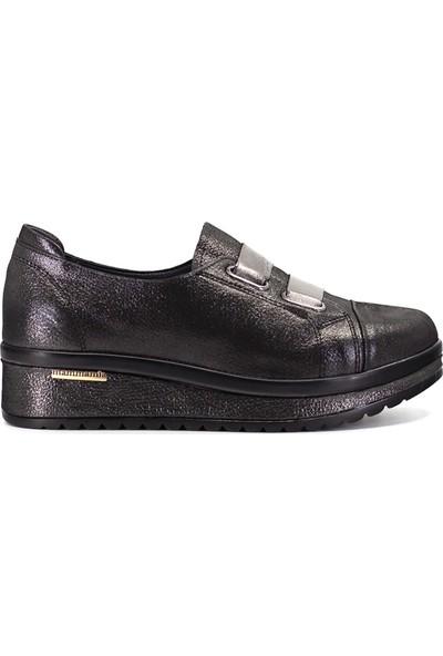Mammamia D19YA-795 Kadın Spor Ayakkabı Platin