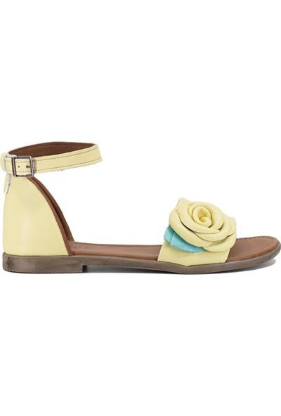 Eşle 9Y-Z-DPP03 Kadın Sandalet Sarı