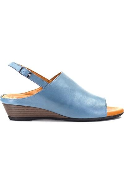 Eşle 9Y-1005 Kadın Sandalet Mavi