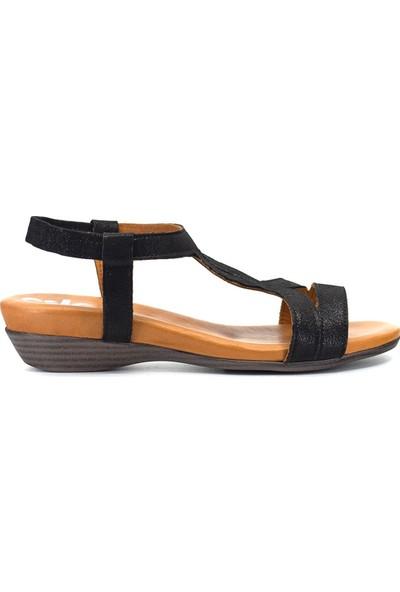 Eşle 9Y-1043 Kadın Sandalet Siyah