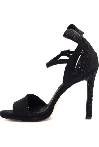 Eşle 9Y-328910 Kadın Topuklu Ayakkabı Siyah