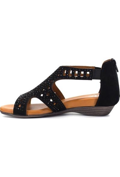 Eşle 9Y-1040 Kadın Sandalet Siyah