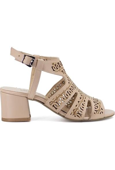 Eşle 9Y-9002 Kadın Sandalet Bej