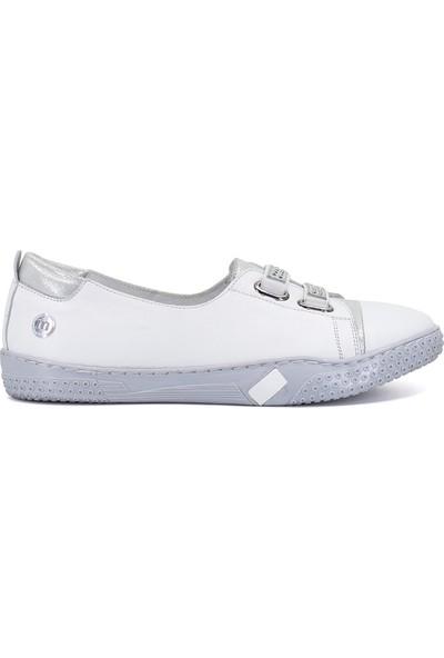 Mammamia D19YA-4540 Kadın Günlük Ayakkabı Beyaz