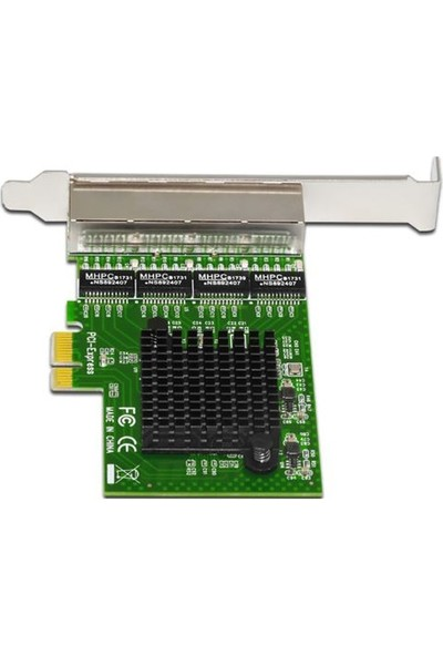 Open Smart 4 Port Gigabit Lan PCI Express Kart