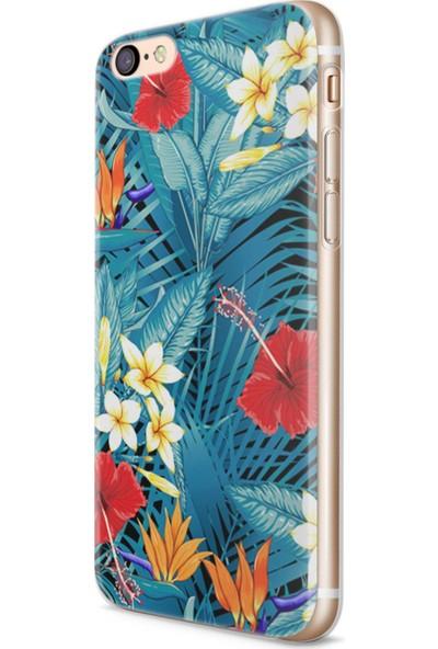 Melefoni Apple iPhone 6 6S Flower Serisi Aubree Desenli Kılıf