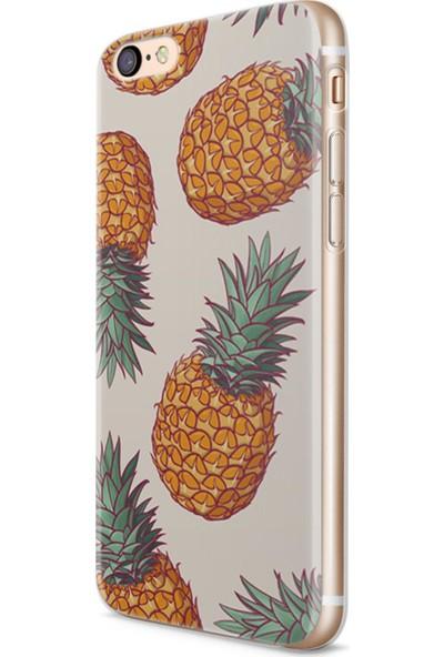 Melefoni Apple iPhone 6 6S Plus Pineapple Serisi Hazel Desenli Kılıf