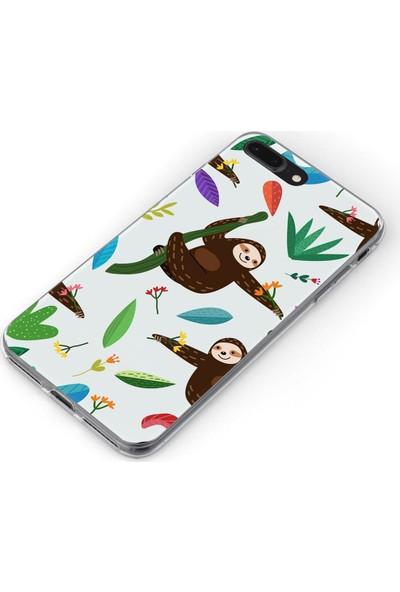 Melefoni Apple iPhone 8 Plus Jungle Serisi Maria Desenli Kılıf