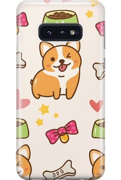 Melefoni Samsung Galaxy S10E Doggie Serisi Kennedy Desenli Kılıf