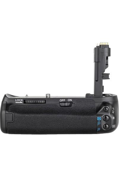 Canon 70D, 80D İçin Ayex Ax-70D Battery Grip + 2 Ad. Lp-E6 Batarya