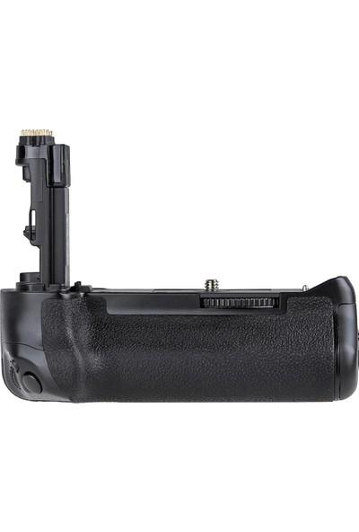 Canon Eos 7D Mark Iı İçin Ayex Ax-7Dıı Battery Grip + 2 Ad. Lp-E6 Batarya