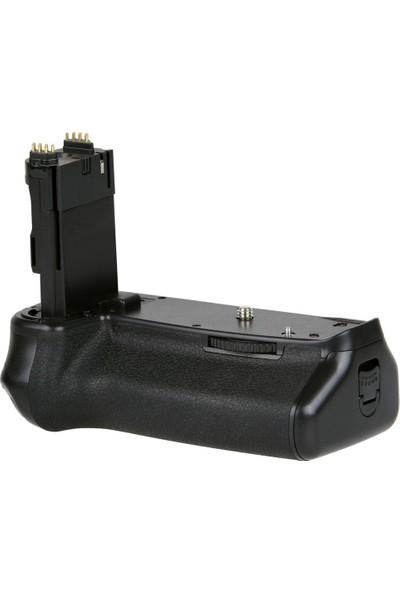 Canon Eos 6D Mark Iı İçin Ayex Ax-6Dıı Batter Grip + 2 Ad. Lp-E6 Batarya