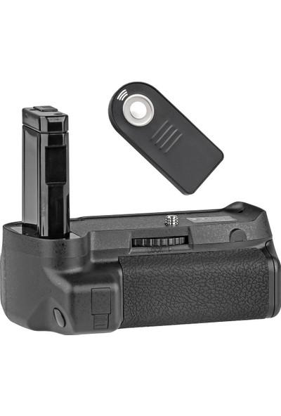 Nikon D3400 İçin Ayex Ax-D3400 Ir Kumandalı Battery Grip + 1 Ad. En-El14 Batarya