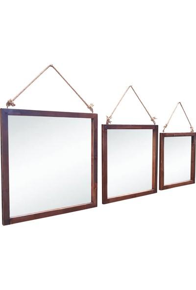 3 El Takım Duvar Aynası