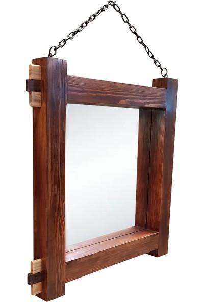 3 El Konsol Üstü Ayna Zincir Detaylı