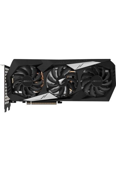 Gigabyte Aorus Nvidia GeForce GTX 1660 Ti 6GB 192Bit GDDR6 (DX12) PCI-E 3.0 Ekran Kartı GV-N166TAORUS-6GD