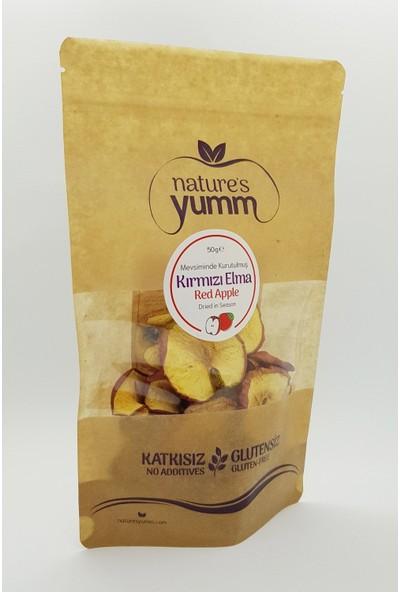 Nature'S Yumm 3'Lü Kurutulmuş Kırmızı Elma Paketi 50 gr