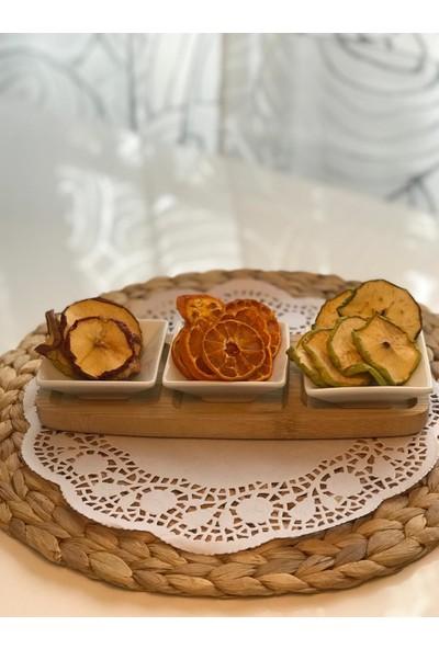 Nature'S Yumm 3'Lü Kurutulmuş Yeşil Elma Paketi 50 gr