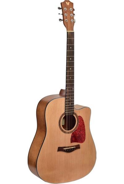 Valler Ag245 Na Akustik Gitar