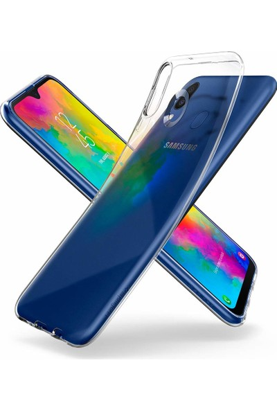 Spigen Samsung Galaxy M20 Kılıf Liquid Crystal Clear - 610CS26135