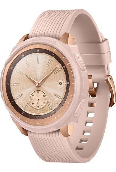 Spigen Samsung Galaxy Watch (42mm) Kılıf Liquid Air Rose Gold - 600CS25050