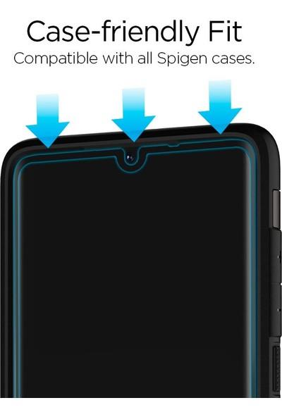 Spigen Huawei P30 Cam Ekran Koruyucu Tam Kaplayan Full Cover Black - L38GL26018
