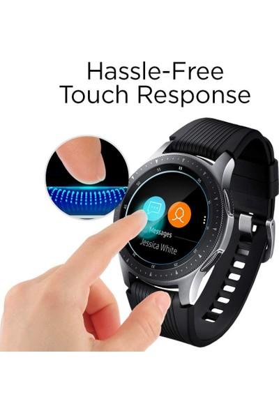 Spigen Samsung Galaxy Watch (46mm) Cam Ekran Koruyucu GLAS.tR SLIM (3 Adet) - 603GL25595