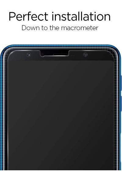 Spigen Samsung Galaxy A7 (2018) Cam Ekran Koruyucu GLAS.tR SLIM - 608GL25987
