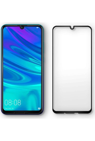 Spigen Huawei P Smart 2019/Nova Lite 3/Honor 10 Lite Cam Ekran Koruyucu Tam Kaplayan Full Cover Black - L40GL26096