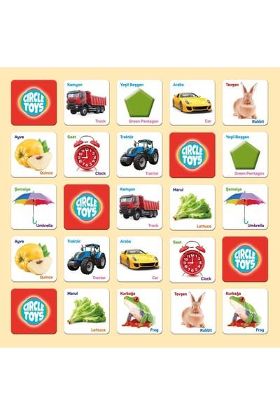Circle Toys Eşleştirme Kart Oyunu