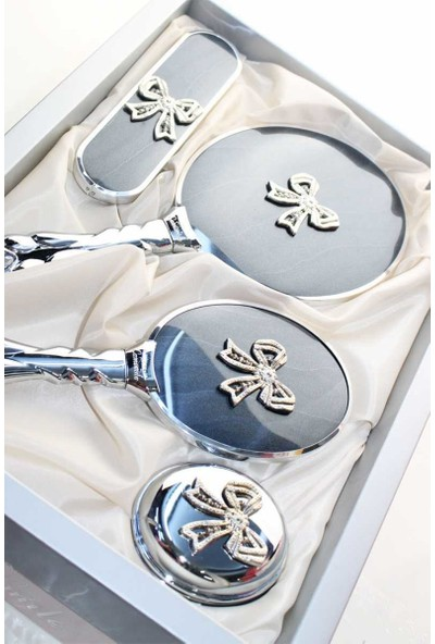 Camomile Fiyonk Ayna Tarak Set