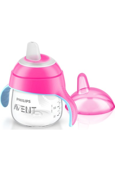 Philips Avent SCF751/07 Yeni Penguen Damlatmaz - 6m+ 7 oz/200 ml - Pembe
