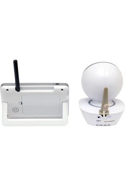 """Weewell WMV855 Dijital Bebek İzleme Cihazı – Kablosuz 300m – 3,50"""" LCD – Uzaktan kamera hareket kontrolü - Interkom - Ortam Termometresi - Gece Işığı"""