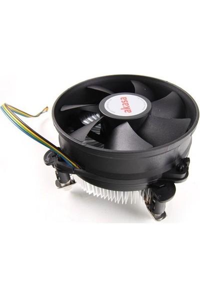 Akasa Intel LGA775/1150/1155/1156 Socket PWM İşlemci Soğutucusu (AK-CC7108EP01)