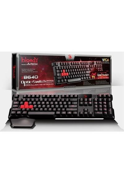 Bloody B640 Aydınlatmalı Mekanik Kablolu Multimedya Oyuncu Klavye