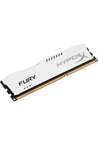 Kingston HyperX Fury White 8GB 1600Mhz DDR3 Ram (HX316C10FW/8)