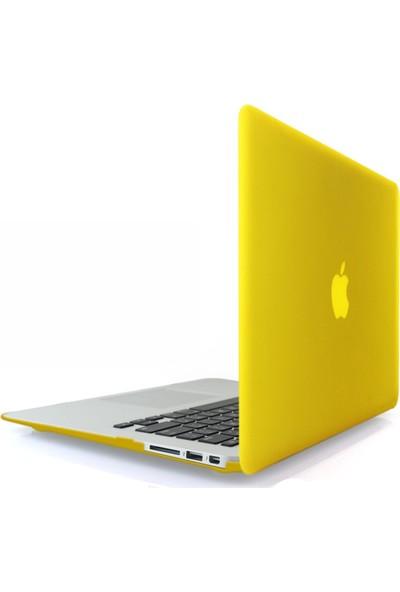 """Codegen Apple 11"""" Macbook Air A1465 A1370 Sarı Kılıf Koruyucu Kapak CMA-116Y"""