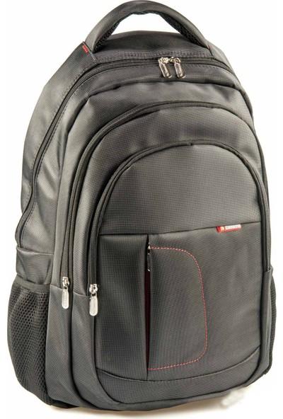 Classone BP-L100 15,6 inç Notebook Sırt Çantası-Siyah