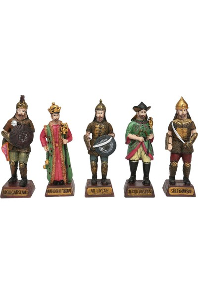 Selçuklu Sultanları Biblo Seti