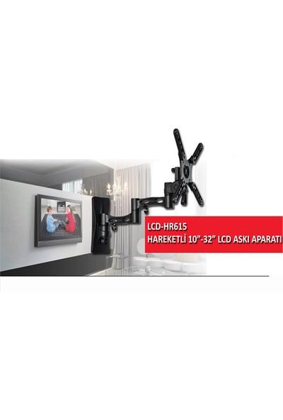 Everest LCD-HR615 10''-32'' Hareketli Lcd & Led Tv Askı Aparatı