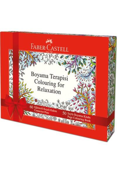 Faber-Castell Boyama Kitap Hediyeli Eğlenceli Keçeli Boyama Kalemi 60'lı