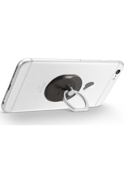 Spigen Telefon Halkası Style Ring Selfie Yüzüğü / Araç Tutacağı - Stand Space Gray - 000EP20243