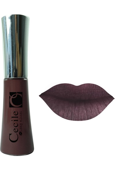 Cecile Kalıcı Mat Ruj / Long Kisses Lipgloss 35