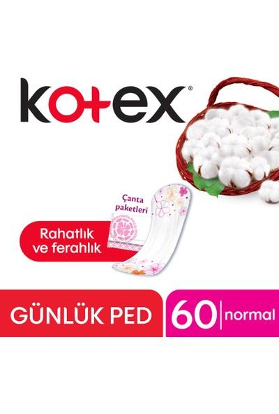 Kotex Normal Günlük Ped (60 Adet)