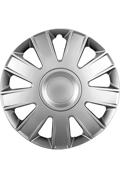 Gold 15 İnç Ford Connect Kırılmaz Jant Kapağı 4'Lü Set